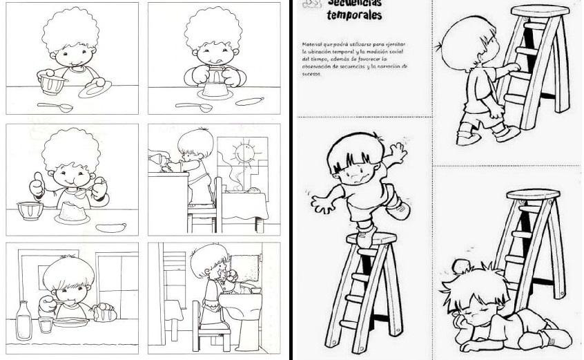 Docenteca 83 Fichas De Secuencias Temporales Para Imprimir
