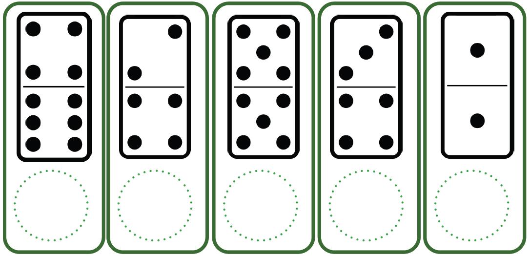 Docenteca fichas para actividades con piezas de domino for Fichas de domino