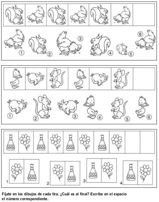 DOCENTECA - Divertidas Fichas De Razonamiento Lógico para primaria