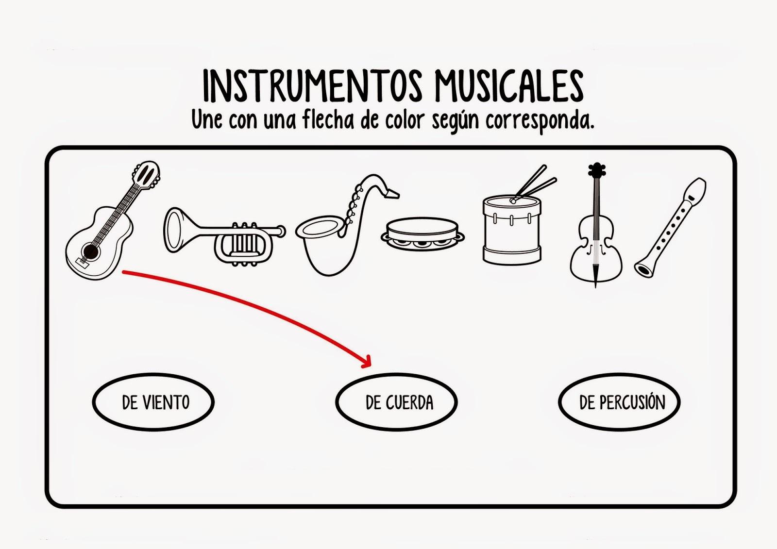 DOCENTECA - Instrumentos musicales - Introducción + ejercicios
