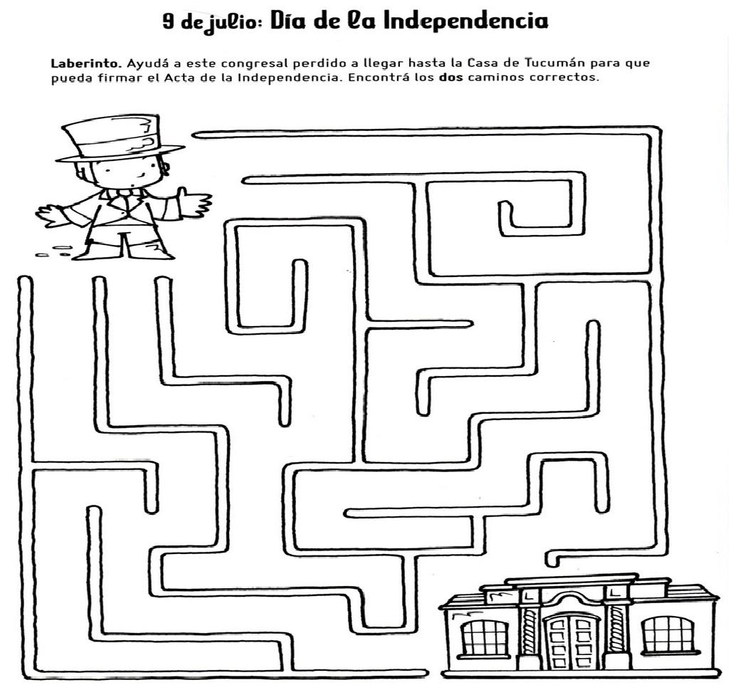 DOCENTECA - 9 de Julio - Independencia Argentina - Primario -1er ciclo