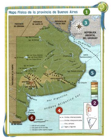 Docenteca Los Elementos De Los Mapas Cartas Y Planos Actividades