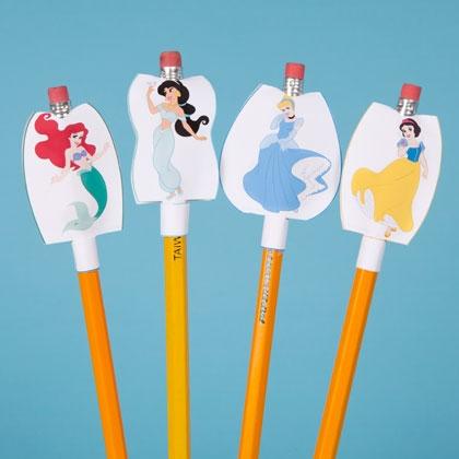 DOCENTECA - Fundas decorativas para lápices. Imprimibles de Disney